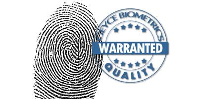 Fiabilidad enrolamiento biométrico