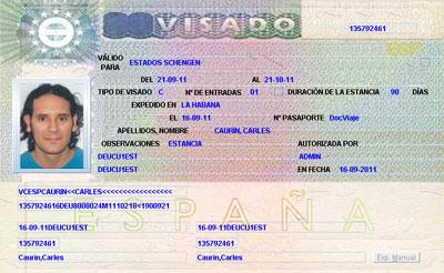Enrolamiento visados